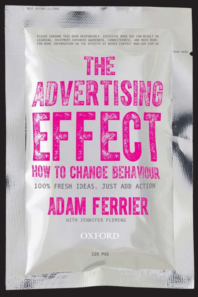 livre pour apprendre le copywriting The Advertising Effect How to Change Behavior